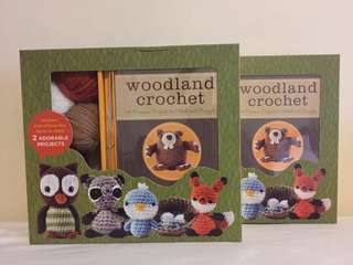 [IN STOCK] Woodland Animal Crochet Kit