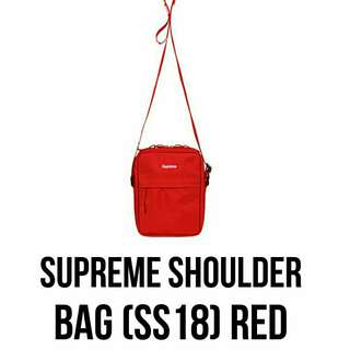 Supreme SS18 Shoulder Bag代購