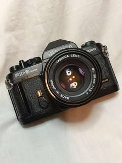 YASHICA FX3 SUPER 2000 n 50mm lens