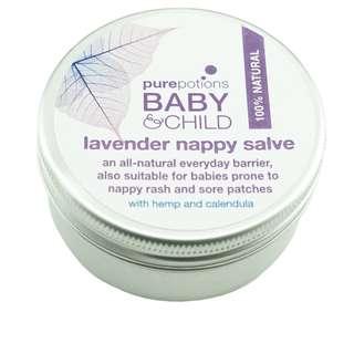 845. Purepotions Lavender Nappy Salve 50ml