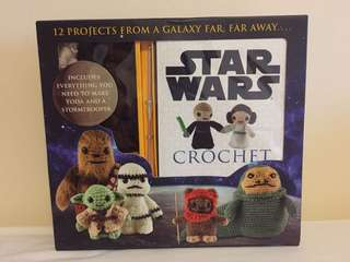 [IN STOCK] Star Wars Crochet Kit by Lucy Collin [Classic Edition]
