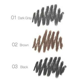 Pensil Alis Focallure Brows - 03