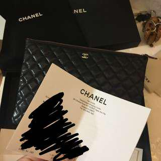 Chanel Caviar O Case