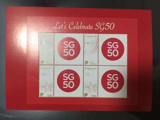 SG50 miniature sheet