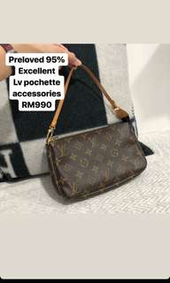 LV mini Pochette Accessories