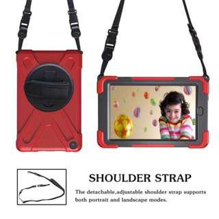 360 Rotating Armoured Case W Sling and Hand Strap