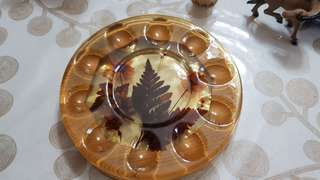 Vintage Egg Holder Plate
