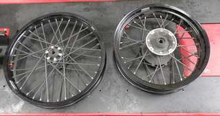 Africa Twin CRF1000 OEM Complete Rims.