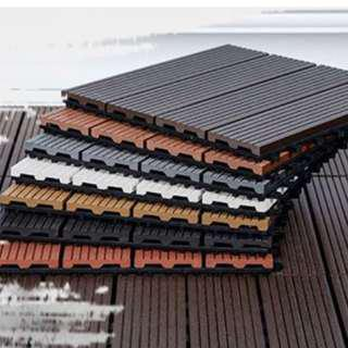 Wooden Deck Tiles (EASY TO SELF INSTALL!)