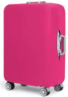 🚚 Pink Luggage Cover M