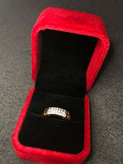 Diamond Ring (sz 7.5-8)