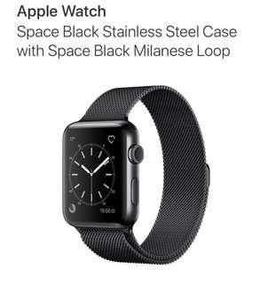 Apple Watch Series 2 42mm Space Black (Brand New)