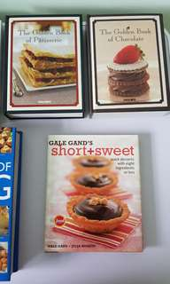 Baking / Dessert books