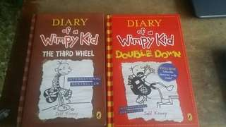 Diary Of A Wimpy Kid (Double Down & The 3rd Wheel)