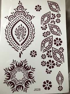 Henna tattoo stickers swipe for more photos