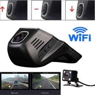 PRE ORDER Dual Lens HD 1080 Camera Decoder Wifi