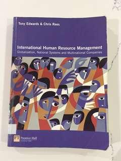 International Human Resource Management - Tony Edwards & Chris Rees