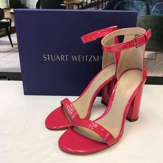 全新 Stuart Weitzman Patent Sandals