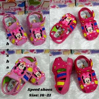 Minnie Mouse Pre Walker shoes with sounds