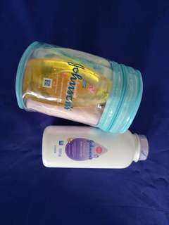 Johnson Baby Travel Kit + Free Baby Powder