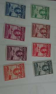 英屬黃金海岸郵票一份
