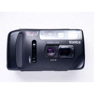 Konica Kanpai Point & shoot film camera
