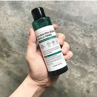 SOMEBYMI AHA BHA PHA 30 DAYS MIRACLE TONER 💞💞💞