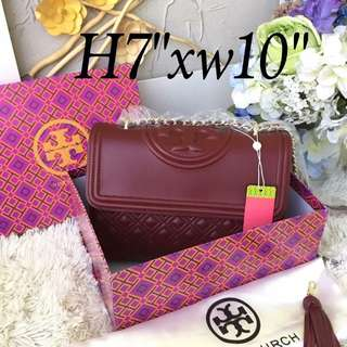 Tory Burch Fleming Leather Bag
