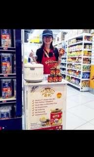 Supermarket promoter