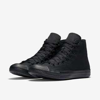 Converse hi (full black)