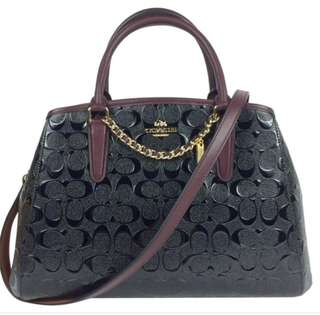 AUTHENTIC COACH MARGOT EMBOSSED WITH