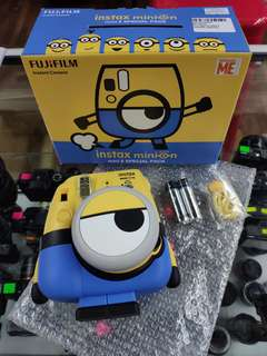 FujiFilm Minion Instax Mini 8 Camera Minion Theme