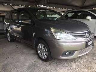 Grandlivina 1.8 auto 2012