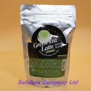 高級綠茶拿铁粉 Green Tea Latte Powder Premium15% 500g
