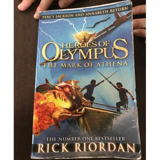 🚚 The Mark of Athena Novel by Rick Riordan