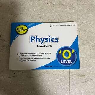 'O'Level Physics Hand Book