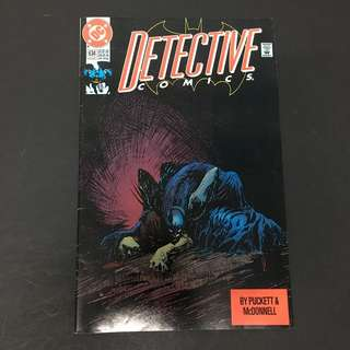 Detective Comics 634 DC Comics Book Batman Movie Justice League