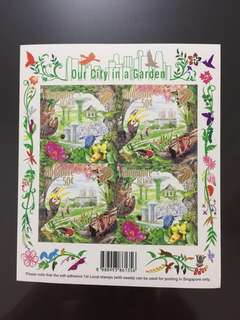Our City in a Garden Rare Stamps with seeds