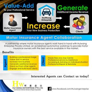 Motor insurance agents collaboration