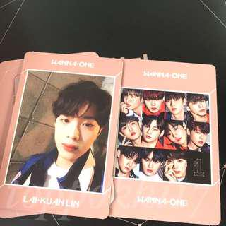 Wanna one undivided guanlin kuanlin PC wanna one ver WTT WTS