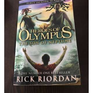 🚚 The Son of Neptune Novel by Rick Riordan