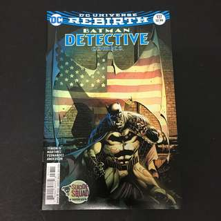 Detective Comics 937 DC Comics Book Batman Movie Justice League