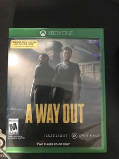 Xbox One Games A Way Out