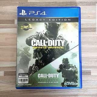 PS4 Call of Duty Infinite Warfare (Legacy Edition)
