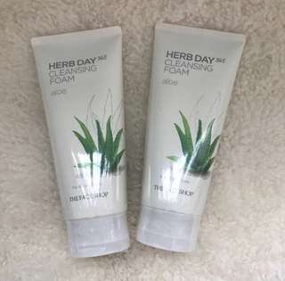 The Faceshop Herb Day 365 Cleansing Foam Aloe