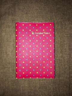 Refillable Binder Notebook