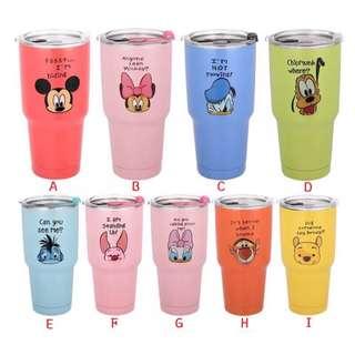 迪士尼系列冰霸杯(現在預購送杯套唷)