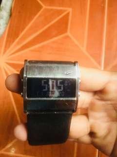 nike leather watch original