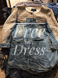 Dress Denim  preloved