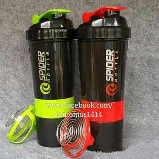 Water Bottle protein shaker botol gym sport GNC BSN Optimum Nutrition supplement